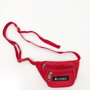 Everest Mini Signature Waist Pack Fanny Pack Red